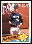 1985 Topps #721  Bob Knepper  Front Thumbnail