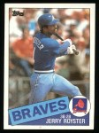1985 Topps #776  Jerry Royster  Front Thumbnail