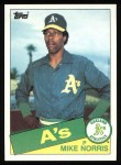 1985 Topps #246  Mike Norris  Front Thumbnail