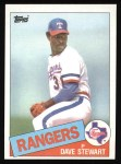 1985 Topps #723  Dave Stewart  Front Thumbnail