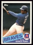 1985 Topps #219  Gerald Perry  Front Thumbnail