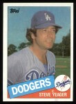 1985 Topps #148  Steve Yeager  Front Thumbnail