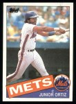 1985 Topps #439  Junior Ortez  Front Thumbnail