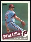 1985 Topps #15  Jerry Koosman  Front Thumbnail