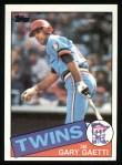 1985 Topps #304  Gary Gaetti  Front Thumbnail