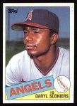 1985 Topps #604  Daryl Sconiers  Front Thumbnail