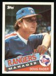 1985 Topps #519  Doug Rader  Front Thumbnail