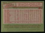 1985 Topps #457  Cecilio Guante  Back Thumbnail