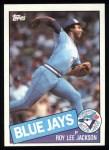 1985 Topps #516  Roy Lee Jackson  Front Thumbnail