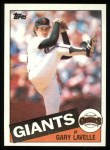 1985 Topps #462  Gary Lavelle  Front Thumbnail