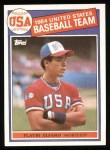 1985 Topps #391   -  Flavio Alfaro Team USA Front Thumbnail