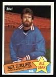 1985 Topps #720  Rick Sutcliffe  Front Thumbnail