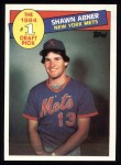 1985 Topps #282  Shawn Abner  Front Thumbnail