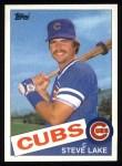 1985 Topps #98  Steve Lake  Front Thumbnail