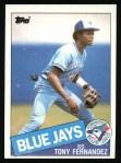 1985 Topps #48  Tony Fernandez  Front Thumbnail