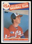 1985 Topps #392   -  Don August Team USA Front Thumbnail