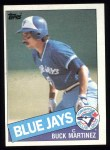 1985 Topps #673  Buck Martinez  Front Thumbnail