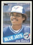 1985 Topps #24  Jesse Barfield  Front Thumbnail
