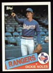1985 Topps #149  Dickie Noles  Front Thumbnail