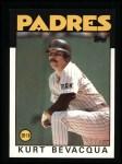 1986 Topps #789  Kurt Bevacqua  Front Thumbnail