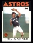 1986 Topps #83  Phil Garner  Front Thumbnail