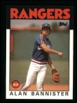 1986 Topps #784  Alan Bannister  Front Thumbnail