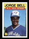 1986 Topps #718   -  George Bell All-Star Front Thumbnail