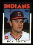 1986 Topps #9  Roy Smith  Front Thumbnail