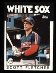 1986 Topps #187  Scott Fletcher  Front Thumbnail