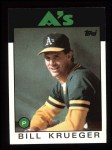 1986 Topps #58  Bill Krueger  Front Thumbnail