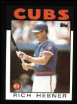 1986 Topps #19  Rich Hebner  Front Thumbnail