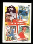 1986 Topps #7   -  Pete Rose Rose Special: 83-85 Front Thumbnail