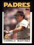 1986 Topps #67  Carmelo Martinez  Front Thumbnail