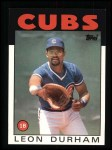 1986 Topps #460  Leon Durham  Front Thumbnail