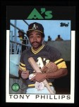 1986 Topps #29  Tony Phillips  Front Thumbnail