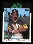 1986 Topps #29  Tony Phillips  Front Thumbnail
