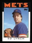 1986 Topps #68  Ed Lynch  Front Thumbnail