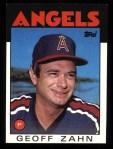 1986 Topps #42  Geoff Zahn  Front Thumbnail