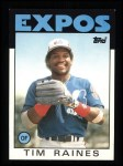 1986 Topps #280  Tim Raines  Front Thumbnail