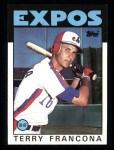 1986 Topps #374  Terry Francona  Front Thumbnail