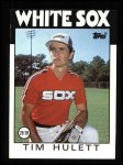 1986 Topps #724  Tim Hulett  Front Thumbnail