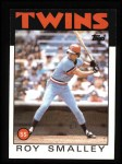 1986 Topps #613  Roy Smalley  Front Thumbnail