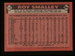1986 Topps #613  Roy Smalley  Back Thumbnail