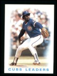 1986 Topps #636   Cubs Leaders Front Thumbnail