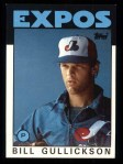 1986 Topps #229  Bill Gullickson  Front Thumbnail