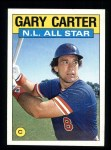 1986 Topps #708   -  Gary Carter All-Star Front Thumbnail