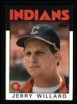 1986 Topps #273  Jerry Willard  Front Thumbnail