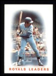 1986 Topps #606   Royals Leaders Front Thumbnail
