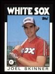 1986 Topps #239  Joel Skinner  Front Thumbnail