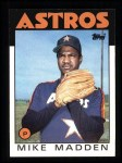 1986 Topps #691  Mike Madden  Front Thumbnail